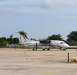 Flying to Anambas = Convenience and comfort